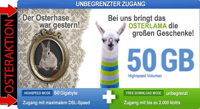 Usenext 50GB Osteraktion